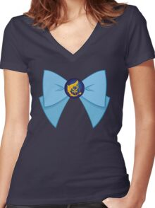 Sailor Mercury Women's Fitted V-Neck T-Shirt