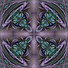 Art Nouveau - Pattern for a tile by Ineke-2010
