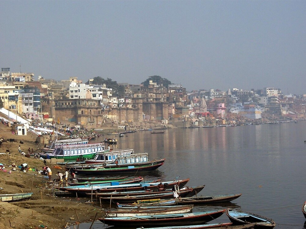 Along the Ganges by Angie Spicer