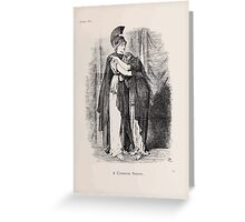 Cartoons by Sir John Tenniel selected from the pages of Punch 1901 0069 A Common Sorrow Greeting Card