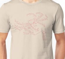 King Crab Exploded View Design Unisex T-Shirt