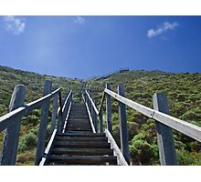 Long Way To The Top Photographic Print