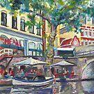Utrecht Canal Reflections by Cameron Hampton