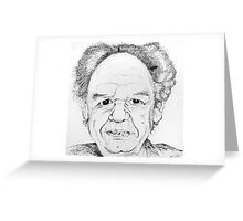 Mike Esson Portrait Greeting Card