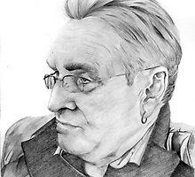 Alan Glover Pencil Portrait by CSSART