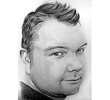 Stephen Pencil Portrait Photographic Print