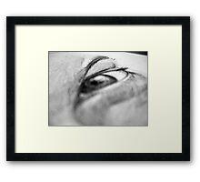 Stephen Pencil Portrait - Detail Framed Print