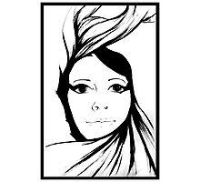 Self portrait - Swirl Photographic Print