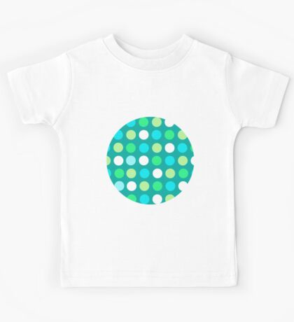 Having a Ball with Dots Kids Tee