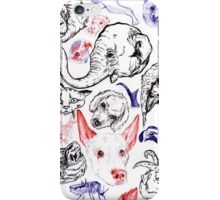 Happy Menagerie  iPhone Case/Skin