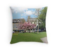 Montpellier Gardens Harrogate Throw Pillow