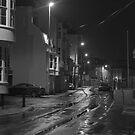 Dock Road before Dawn by Richard Keech