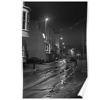 Dock Road before Dawn Poster