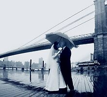Brooklyn Bridge Wedding Bells by deahna