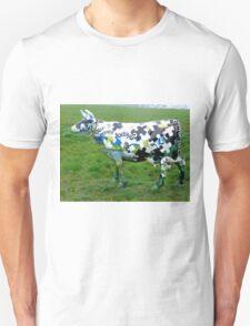 Jigsaw Puzzle Cow Unisex T-Shirt