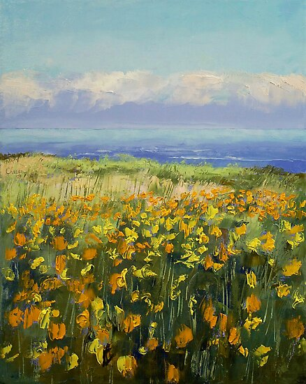 Seaside Poppies by Michael Creese
