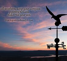 Keep your compass pointing to God by Bonnie T.  Barry