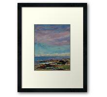 California Seascape Framed Print