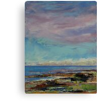 California Seascape Canvas Print