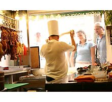 Chinatown Eatery Photographic Print