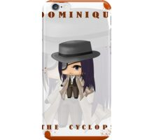 Chibi Dominique the Cyclops iPhone Case/Skin