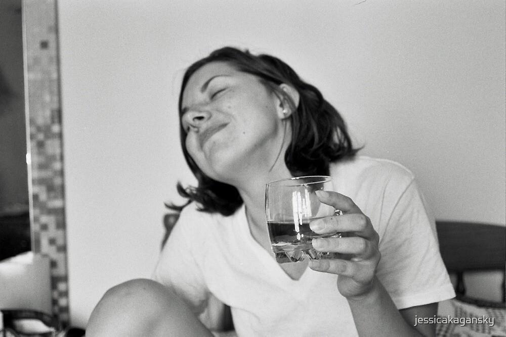 Polina and her Alcoholic Cider by jessicakagansky