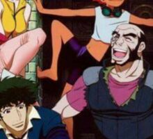 Cowboy Bebop - Spike, Jet, Fay, Ed and Ein Sticker