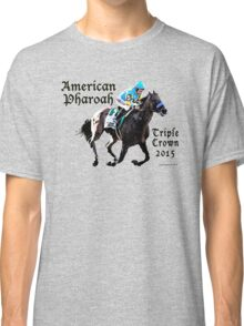 American Pharoah Triple Crown 2015 Classic T-Shirt