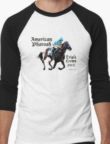 American Pharoah Triple Crown 2015 Men's Baseball ¾ T-Shirt