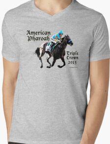 American Pharoah Triple Crown 2015 Mens V-Neck T-Shirt