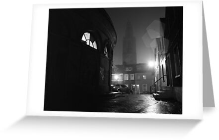 Shandon And The Firkin Crane In The Fog by rorycobbe