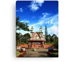 Puriscal Church Canvas Print