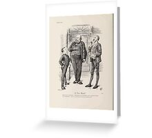 Cartoons by Sir John Tenniel selected from the pages of Punch 1901 0182 A Free Hand Greeting Card
