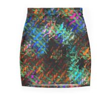 Don't touch the electric fence Mini Skirt