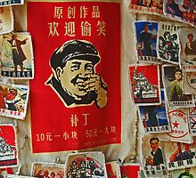 Little Red Mao - Badges, Yangshou, China by AlliD