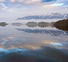 Skiddaw from Derwent Water by David Lewins