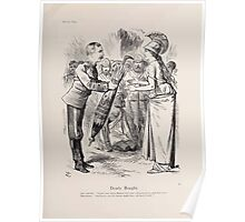 Cartoons by Sir John Tenniel selected from the pages of Punch 1901 0059 Dearly Bought Poster