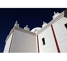 San Xavier Building Detail Photographic Print