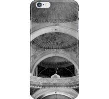 San Xavier Ceiling 1 BW iPhone Case/Skin