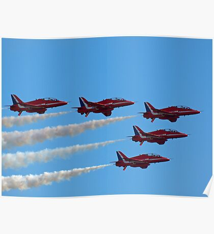 Red Arrows Fly Pass Poster