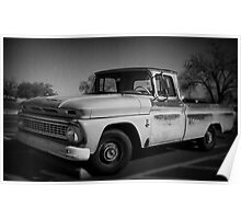 Truck BW Poster