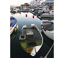 Boat or U boat?. Photographic Print