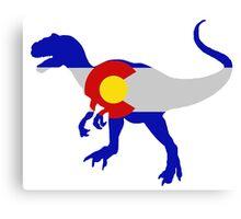 Colorado Allosaurus  Canvas Print