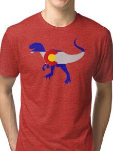 Colorado Allosaurus  Tri-blend T-Shirt