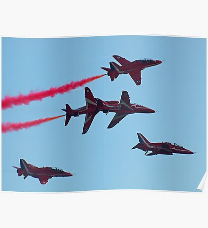 Red Arrows Roll ... Poster