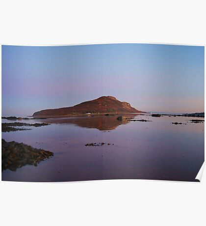 Holy Isle in the gloaming  Poster