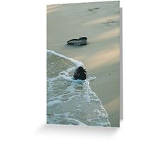 Things in the Sand Greeting Card