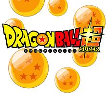 Dragonball SUPER logo tee by Veldranol