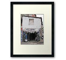 Wheel mechanic Framed Print