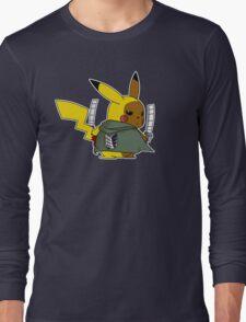 Shingeki No Thunder Long Sleeve T-Shirt